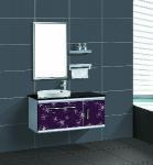 China Stainless Steel Bathroom Cabinet / Furniture / Vanity (F-3060) wholesale