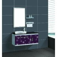 China Stainless Steel Bathroom Cabinet / Furniture / Vanity (F-3060) wholesale