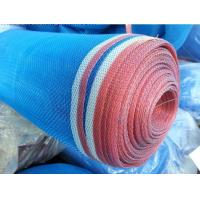 China 16 x16 Plain Weave Blue Plastic Insect Mesh Temperature And Ventilation Control wholesale