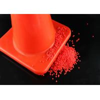 China Red Color Plastic PVC Compound PVC Material For Road Cone Good Hardness wholesale