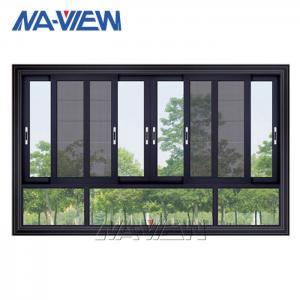 China OEM Chinese manufacturer Latest Custom Style Small Minimal Sliding Glass Windows wholesale