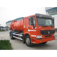 Buy cheap Howo 6x4 23m³ Sewage Vacuum Truck 266HP - 420HP With Air Conditioner product
