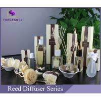 China Luxury Transparent 80ml Apple Essential Oil Reed Diffuser For Living Room wholesale