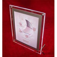 China acrylic vase with photo frame wholesale