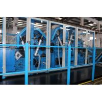 China Nonwoven Polyester Wadding Wool Carding Machine , Fiber Processing Equipment Double Doffer on sale