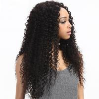 China 8'' Kinky Curl Middle Part 100% Brazilian Virgin Hair Lace Closure For Ladys wholesale