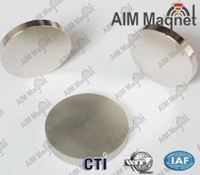 China Small disc magnet neodymium D15x2mm Nickel Coating N52 wholesale