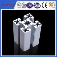 China aluminum alloy 6063 Extrusion T-Slot industrial Aluminum Profile in stock on sale