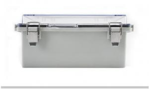 China 210x160x100mm IP65 ABS Plastic Enclosure With Hinged Cover wholesale