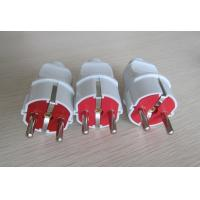 China 16A 250V electric power plug outlet AC plugs PC Two rond pins Electrical plugs worldwide wholesale