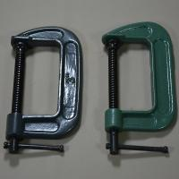 Buy cheap High quality Black Green 4'' 8'' 12'' Woodworking G clamp C clamp for Carpenters from wholesalers