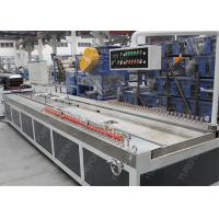 China Wood Plastic Composite WPC Profile Extrusion Line Stable Running 20 M Twin Screw wholesale