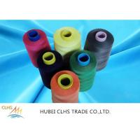 China Colours Roll 100 Spun Polyester Sewing Thread High Tenacity For Sewing Machine wholesale