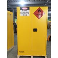 China 4 GAL Small Industrial Safety Cabinets With Door For Chemical Flammable Liquids wholesale