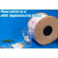 China 100%Biodegradable Auto Pre Opened Auto Poly Bags On Rolls For Autobag Machines, Perforated Auto Bags Degradable Pre-Open on sale