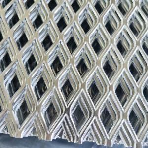 China Triple Diamond Aluminum Sliver Mesh Sheet Color Coated Embossed Aluminum Sheet wholesale