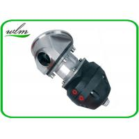 China Casted Steel Sanitary Diaphragm Valve , Diaphragm Pneumatic Valve Non Retention wholesale