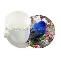 China Durable 0.6mm PET/PP 3D Lenticular Coasters UV Offset CMYK Printing wholesale