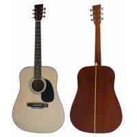China White / Natural Sapele Plywood 6 String Acoustic Guitar 41 Inch AF4120-B wholesale