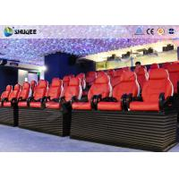 China Entertainment Park 12D Cinema XD Theatre With 3 DOF Electric Chairs 180KG wholesale