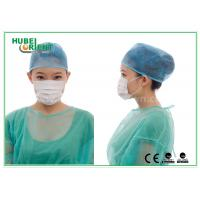 Buy cheap PC 3- Ply ESD Disposable Face Mask With Ear Loop For Clean Room , Professional Custom product