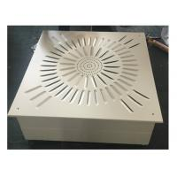 Buy cheap Ceiling And Wall Laminar Flow Diffuser HEPA Filter Box For Clean Room from wholesalers