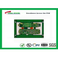 China Immersion Gold Rigid-Flexible PCB Green 8 Layer PCB Circuit Board wholesale