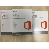 China Microsoft Office 2016 Home And Student PKC Retailbox NO Disc 100% Activated Online wholesale