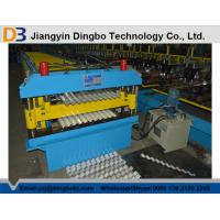 China Roof Tile Corrugated Roll Forming Machine with Comuter Control System for Shelving , HVAC wholesale