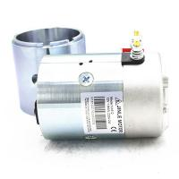 China 2700Rpm Hydraulic 24v Electric Motor 2.2KW N2024 Silver Color With Shaft wholesale