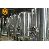Quality 20HL SS Large Beer Brewing Equipment Steam Heating For Commercial for sale