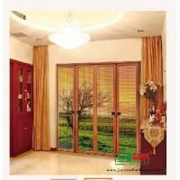 Buy cheap luxury double folding screen door product