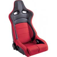 China Universal Sport Racing Seats , Red Leather Racing Seats 95X71X55 Measurement wholesale