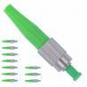 China Single Mode Fiber Optic Quick Connector Simplex APC 0.9mm Ceramic Ferrule wholesale
