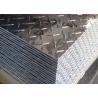 China 5052 5083 5754 Aluminum Checker Sheet / Aluminum Tread Plate For Trailer Decking Plate wholesale