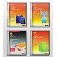 China Microsoft PC Software Office 2010 Professional Product Key DVD Activation wholesale