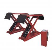 China Low Profile Hydraulic Auto Lift , Home Garage In-ground Mid Rise Scissor Lift wholesale