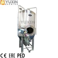 China 10t 20t 30t 50t stainless steel conical beer fermenter for sale wholesale