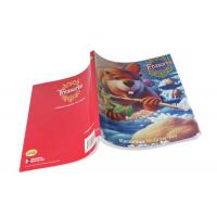 China OEM Kids Paperback Book Printing Services With Glossy / Matt Coated Paper on sale