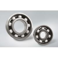 Quality 6202 Full Ceramic Deep Groove Ball Bearing Used For Fans , 12 Months Guarantee for sale