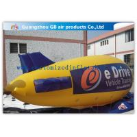 China Zeppelin Shape Inflatable Outdoor Advertising Balloons Heat Transfer Printing wholesale