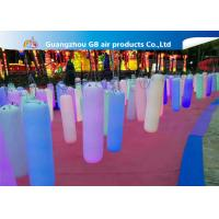 China Waterproof Inflatable Holiday Decorations / Inflatable Post With LED Light wholesale
