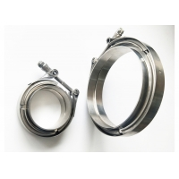 China Standard Latch 3 V Band Clamp And Flange Kit Female / Male wholesale