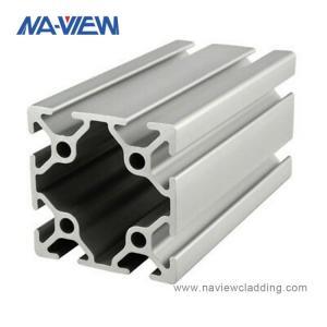 China 10X10 1X1 10 Series 10mm 1010 Aluminum Extrusion Profile wholesale