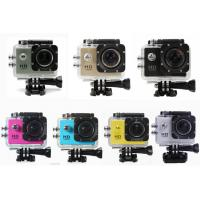 China Professional Small Portable HD 1080P Action Camera Waterproof with12MP CMOS Sensor wholesale