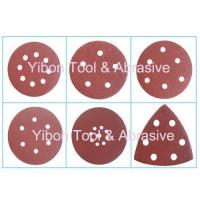 China Various Shape Wolf abrasive paper velcro disc wholesale
