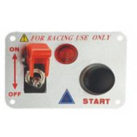 China Automotive Racing Switch Panel With Flip Up Cover , Racing Toggle Switch wholesale