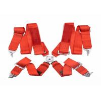 China Washable Car Safety Seat Belts Never Shrink / Distortion With 3 Inch Width wholesale
