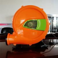 China 750W Bounce House Air Pump Blower , Commercial Bouncy Castle Blower Double Action wholesale