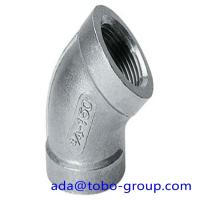 Quality A403 WP316 Stainless Steel Elbows SCH10 - SCH160 XXS 45 90 180 Degree for sale